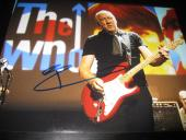 PETE TOWNSHEND SIGNED AUTOGRAPH 11x14 PHOTO THE WHO CONCERT SHOT IN PERSON COA E