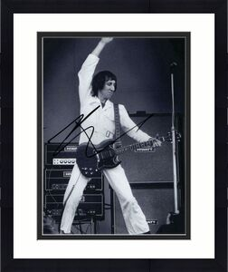 Pete Townshend Signed Autograph 8x10 Photo - The Who, Classic Windmill Photo!
