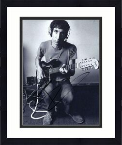 Pete Townshend Signed Autograph 8x10 Photo - The Who Legendary Guitarist, Rare!