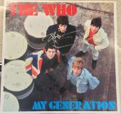 "Pete Townshend Signed Autograph Original The Who ""my Generation"" Album Vinyl Lp"