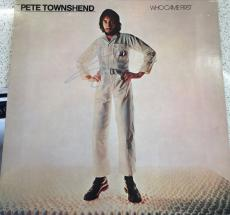 "Pete Townshend Signed Autograph Original Who ""who Came First"" Solo Album Vinyl"