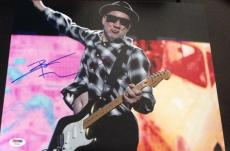 PETE TOWNSHEND SIGNED AUTOGRAPH THE WHO GUITAR SWING 11x14 PHOTO PSA/DNA Y63362
