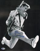 """PETE TOWNSHEND Signed Autographed """"The WHO"""" 11x14 Photo BECKETT BAS #C34905"""