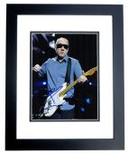 Pete Townshend Signed - Autographed THE WHO 8x10 inch Photo BLACK CUSTOM FRAME - Guaranteed to pass PSA or JSA