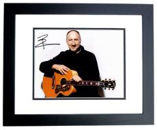 Pete Townshend Signed - Autographed THE WHO guitarist 11x14 inch Photo BLACK CUSTOM FRAME - Guaranteed to pass PSA or JSA