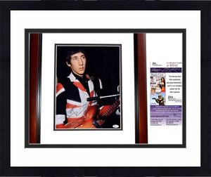 Pete Townshend Signed - Autographed The WHO Guitarist Vintage 11x14 inch Photo + JSA Certificate of Authenticity