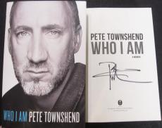 Pete Townshend signed book Who I Am 1st Print Beckett BAS Authentic auto The Who