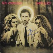 Pete Townshend Signed Empty Glass Album Cover W/ Vinyl JSA #F77178