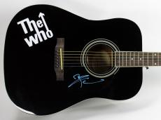 Pete Townshend Signed Epiphone Acoustic Guitar PSA/DNA #AC43022