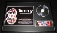Pete Townshend Signed Framed 12x18 The Who Tommy CD & Photo Display