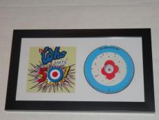 "Pete Townshend Signed Framed ""the Who Hits 50!"" Cd Legend Autographed Jsa Coa"