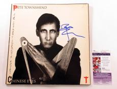 Pete Townshend Signed LP Record Album Chinese Eyes w/ JSA AUTO