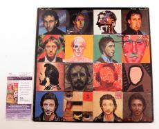 Pete Townshend Signed LP Record Album The Who Face Dances w/ JSA AUTO