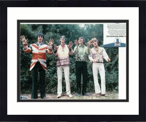 PETE TOWNSHEND signed (THE WHO) Baba O'Riley Music 8X10 photo BECKETT BAS T42841