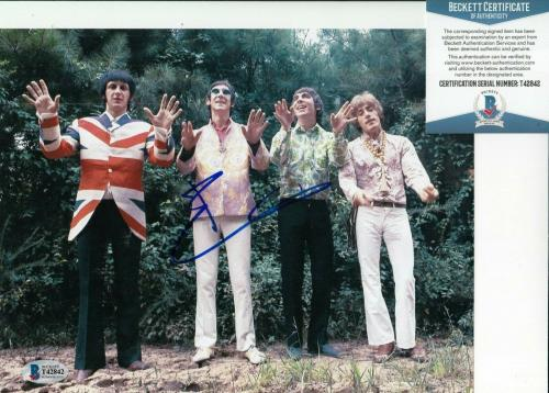PETE TOWNSHEND signed (THE WHO) Baba O'Riley Music 8X10 photo BECKETT BAS T42842