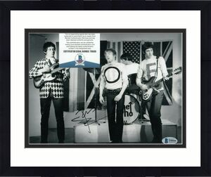PETE TOWNSHEND signed (THE WHO) Baba O'Riley Music 8X10 photo BECKETT BAS T99595