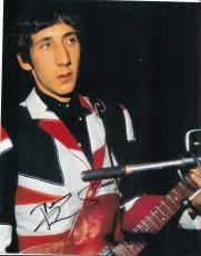 PETE TOWNSHEND signed (THE WHO) GUITARIST MUSIC 8X10 photo W/COA #4
