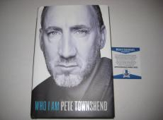 PETE TOWNSHEND Signed WHO I AM Book w/ Beckett COA - 1st Edition
