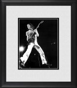 "Pete Townshend The Who Framed 8"" x 10"" Mid-Jump Photograph"