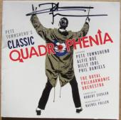Pete Townshend The Who Signed CD Cover Classic Quadrophenia Beckett BAS auto