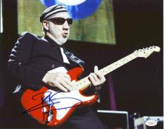 Pete Townshend The Who Signed 11X14 Photo Autographed JSA #F47790