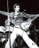 Pete townshend The Who Signed 8x10 Photo Autographed BAS #C56903