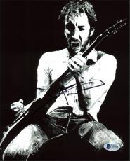 Pete Townshend The Who Signed 8x10 Photo Autographed BAS #C56904