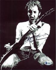 Pete Townshend The Who Signed 8x10 Photo Autographed BAS #C56905