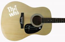 Pete Townshend The Who Signed Acoustic Guitar Autographed PSA/DNA #AB81014