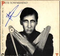 Pete Townshend The Who Signed Chinese Eyes Album Vinyl LP AFTAL UACC RD
