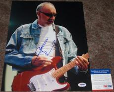 Pete Townshend The Who Signed Cool Live 11x14 Photo PSA