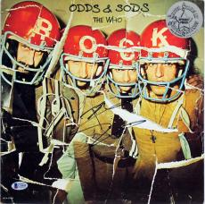 Pete Townshend The Who Signed Odds & Sods Album Cover BAS #C54649