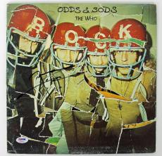Pete Townshend The Who Signed Odds & Sods Album Cover PSA/DNA #AB43070