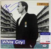 Pete Townshend White City Signed Album Cover W/ Vinyl PSA/DNA #P43561