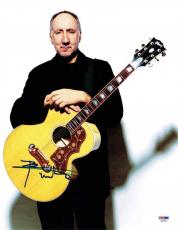 Pete Townshend Who Autographed Signed 11x14 Photo Certified PSA/DNA AFTAL COA