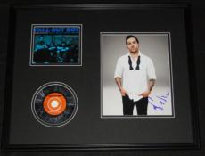 Pete Wentz Signed Framed 16x20 Fall Out Boy CD & Photo Display AW
