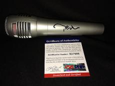Pete Wentz Signed/Auto Microphone Fall out Boy Lead PSA/DNA