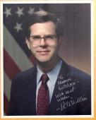 Autographed Pete Williams Photo - 32