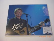 Peter Cetera Chicago,famous Musician Td/hologram Signed 11x14 Photo