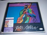 Peter Cetera Self Titled,chicago Jsa/coa Signed Lp Record Album