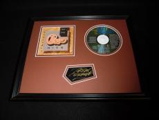 Peter Cetera Signed Framed 11x14 Chicago Greatest Hits CD & Photo Display