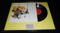 Peter Cetera Signed Framed 1975 Chicago IX Greatest Hits Record Album Display