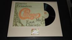 Peter Cetera Signed Framed 1977 Chicago XI Record Album Display