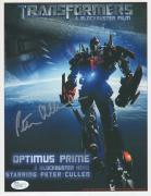 PETER CULLEN HAND SIGNED 8x11 COLOR PHOTO    OPTIMUS PRIME    TRANSFORMERS   JSA