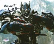 Peter Cullen Optimus Prime Transformers Signed 8x10 Photo PSA/DNA COA #4