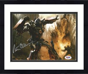 Peter Cullen Transformers Optimus Prime Signed 8x10 Photo PSA/DNA COA (B)