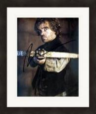 Peter Dinklage autographed 8x10 photo (Game of Thrones Tyrion Lannister) #SC2 Matted & Framed