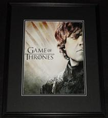 Peter Dinklage Game of Thrones Framed 11x14 Photo Poster