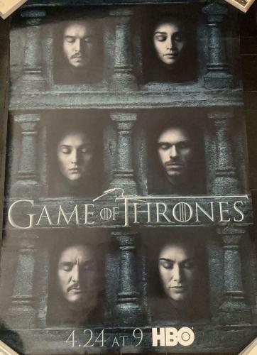Peter Dinklage Game Of Thrones Signed Autograph Original Full Size Poster Coa A