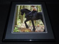 Peter Dinklage Shirtless on horseback 2012 Framed 11x14 Photo Display GOT
